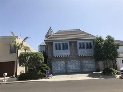 Coronado Single Family Home For Sale: 3 Buccaneer Way