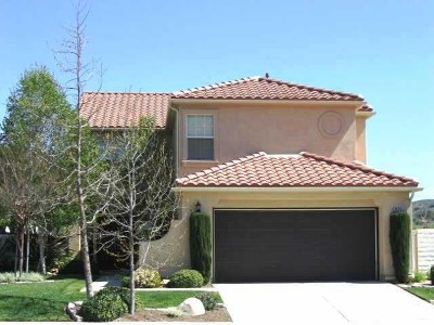 Escondido Single Family Home For Sale: 2476 Fallbrook Pl