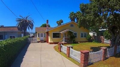National City Single Family Home For Sale: 141 E 31st