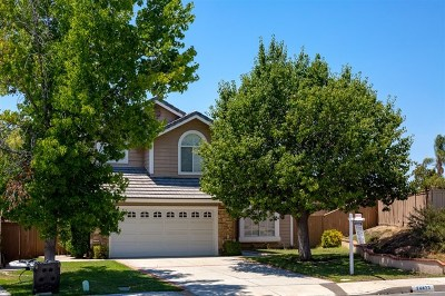 Temecula, Murrieta Single Family Home For Sale: 24423 Ridgewood Dr