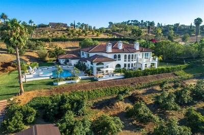 Bonsall Single Family Home For Sale: 6129 Villa Medici