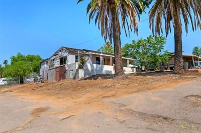 El Cajon Single Family Home For Sale: 8424 Winter Gardens Blvd