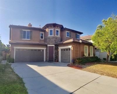Temecula, Murrieta Single Family Home For Sale: 37245 La Lune Ave