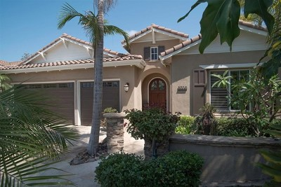 Carlsbad Single Family Home For Sale: 8056 Corte Sasafras