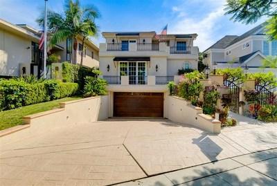 Coronado Single Family Home For Sale: 707 Guadalupe Avenue