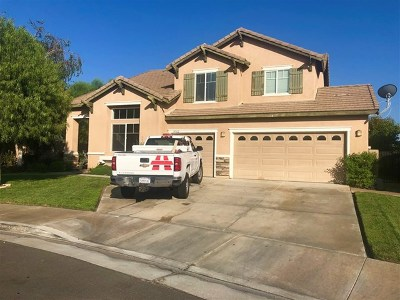 Winchester Single Family Home For Sale: 35362 Date Palm St