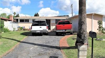La Puente Single Family Home For Sale: 16331 Dalark St