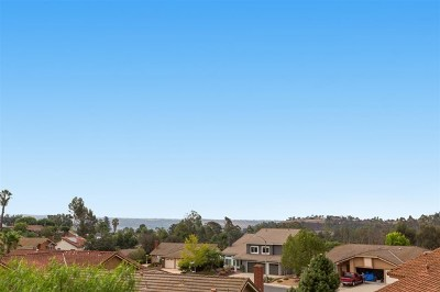 Poway Single Family Home Active Under Contract: 14802 Oakline Road