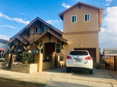 National City Single Family Home For Sale: 1032 E 16th Street