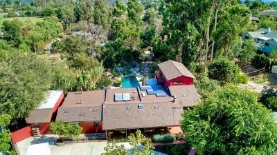 Oceanside Single Family Home For Sale: 1833 California St.