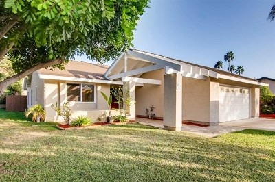 San Marcos Single Family Home For Sale: 341 Camino Mateo