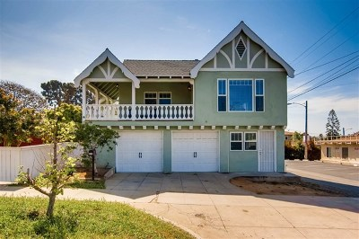 Oceanside Single Family Home For Sale: 711 Michigan Ave.