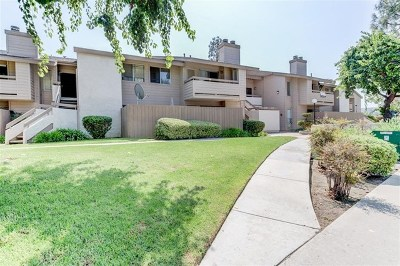 Chula Vista Condo/Townhouse For Sale: 1721 Melrose Ave #9