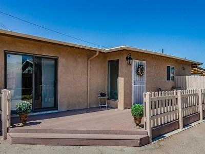 Lemon Grove Single Family Home For Sale: 7452 Central Ave