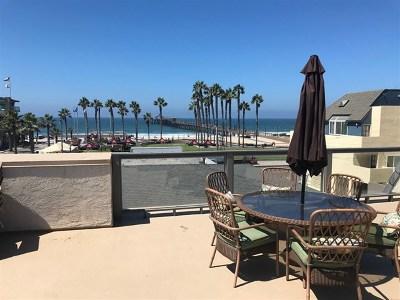 Imperial Beach Condo/Townhouse For Sale: 124 Elder Avenue #D