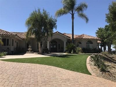 Vista Single Family Home For Sale: 1966 Las Lomas