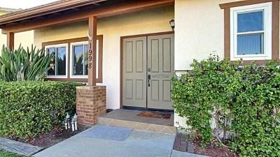 Lemon Grove Single Family Home For Sale: 1998 Dain Drive