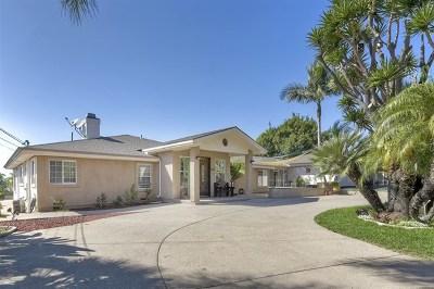 Vista Single Family Home For Sale: 2356 San Clemente Avenue