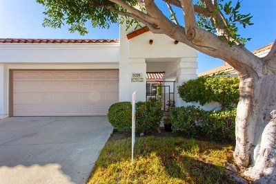 Oceanside Single Family Home For Sale: 5026 Corinthia Way