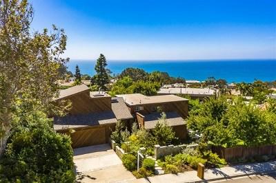 Del Mar Single Family Home For Sale: 13810 Condesa Drive