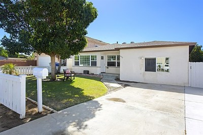 Imperial Beach Single Family Home For Sale: 870 10th