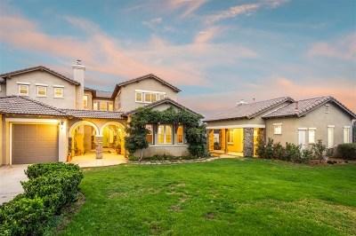 Fallbrook Single Family Home For Sale: 393 Highland Oaks Court