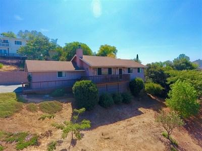 Fallbrook Single Family Home For Sale: 1496 Via Monserate
