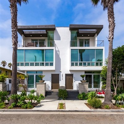 Oceanside Condo/Townhouse For Sale: 311 S Myers St #1