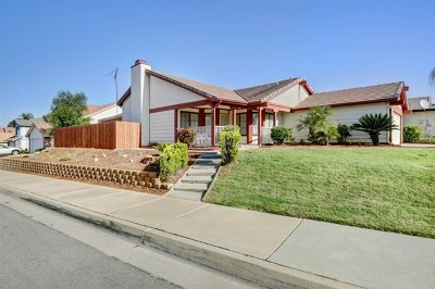 Wildomar Single Family Home For Sale: 33835 Tamerron Way