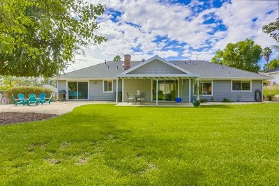 Fallbrook Single Family Home For Sale: 347 Merida Dr