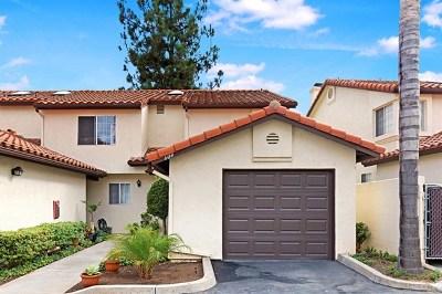 Bonsall Condo/Townhouse For Sale: 5704 Camino Del Cielo #604