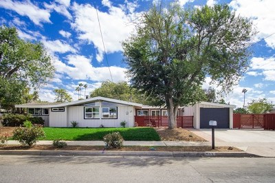 Vista Single Family Home For Sale: 333 Santa Clara Dr
