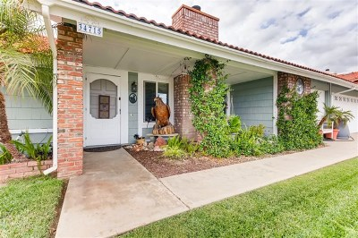Wildomar Single Family Home For Sale: 34715 Hickory Lane