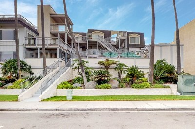 Imperial Beach Condo/Townhouse For Sale: 1320 Seacoast Drive #I
