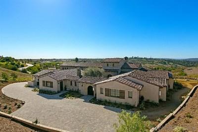 San Deigo, San Diego, San Diego/north Pacific Beach Single Family Home For Sale: 7620 Northern Lights
