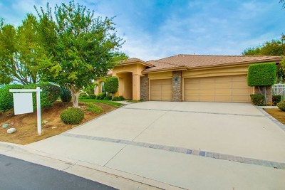 Fallbrook Single Family Home For Sale: 1217 Calle Sonia