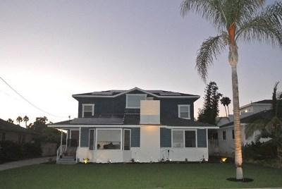 Oceanside Single Family Home For Sale: 1216 Morse Street