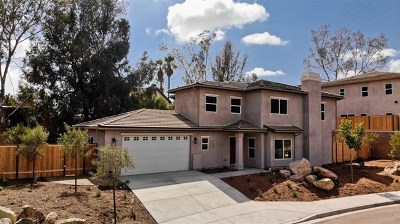Lemon Grove Single Family Home For Sale: 8531 Ildica St.