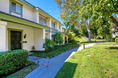 Del Mar Condo/Townhouse For Sale: 2758 Caminito Cedros