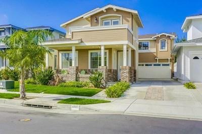 Carlsbad Single Family Home For Sale: 6885 Catamaran Dr