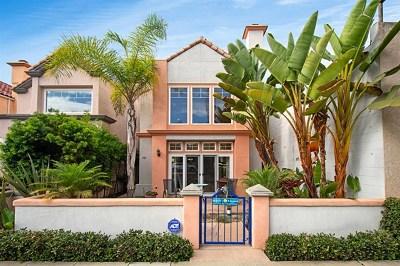 Oceanside Single Family Home For Sale: 707 N Tremont St