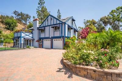 Spring Valley Single Family Home For Sale: 9680 Casa De La Torre Ct.