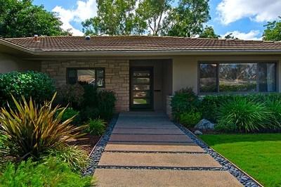 San Marcos Single Family Home For Sale: 1176 San Pablo Dr
