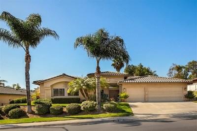Escondido Single Family Home For Sale: 3325 Camino Marzagan