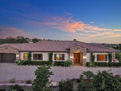 Fallbrook Single Family Home For Sale: 3012 Ridge Creek Dr
