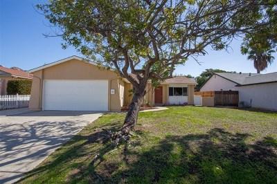 Poway Single Family Home For Sale: 15143 Hesta Street