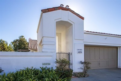 Oceanside Condo/Townhouse For Sale: 4074 Arcadia Way