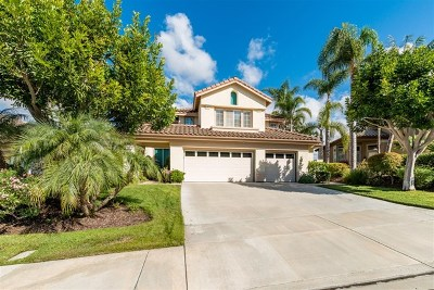 Carlsbad Single Family Home For Sale: 7011 Wildrose Terrace