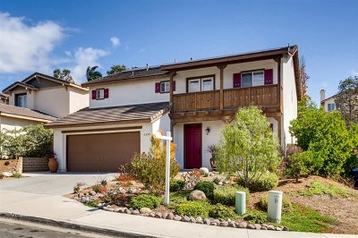 San Marcos Single Family Home For Sale: 1355 Corte Bagalso