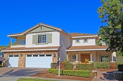 Chula Vista Single Family Home For Sale: 412 Milagrosa Cir
